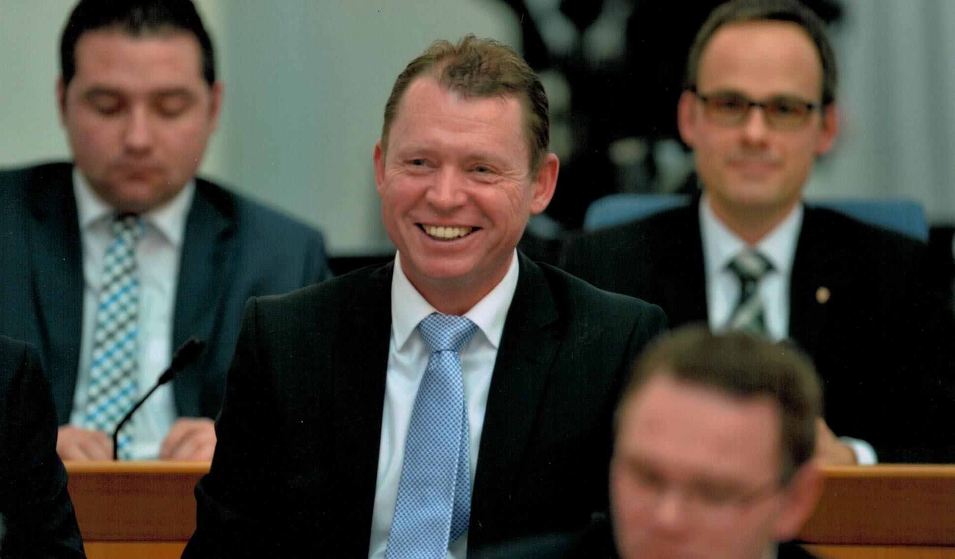 Michael Hüttner Plenum Landtag II